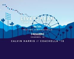 LIVESTREAM CALVIN'S COACHELLA SET WEEKEND 1