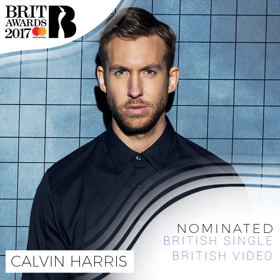 CALVIN IS NOMINATED FOR 2 BRIT AWARDS