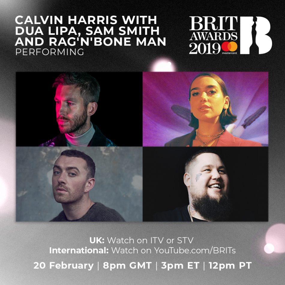 Watch The BRITs 2019 live on 20 February at 8pm GMT / 3pm ET / 12pm PT
